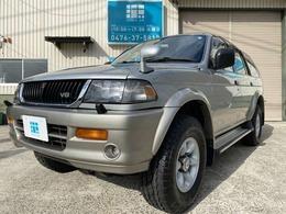 三菱 チャレンジャー 3.0 X ワイドボディ 4WD ワンオーナー