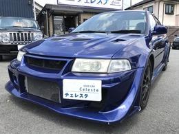 三菱 ランサーエボリューション 2.0 GSR VI 4WD HDDナビ・ローダウン・17インチアルミ
