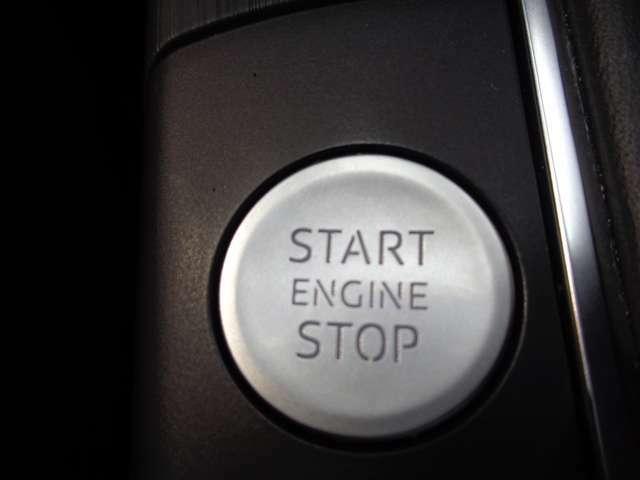 キーの所持だけでドア開閉、エンジン始動まで可能なアドバンストキーシステム!