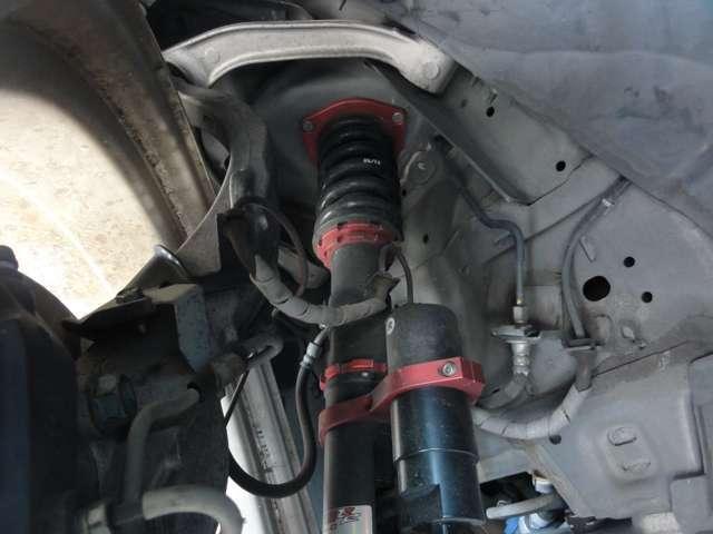 BLITZ製別体タンク車高調を搭載☆しっかりとしたストロークを実現☆