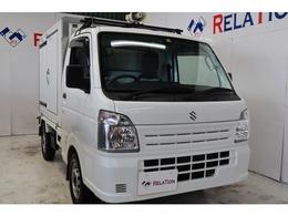 スズキ キャリイ 660 移動販売冷凍車 1WAY 4WD 1オーナー保証継承拡声器-5℃20℃