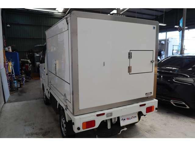 移動販売車&1オーナー&サーモキングー5℃20℃拡声器&4WD&