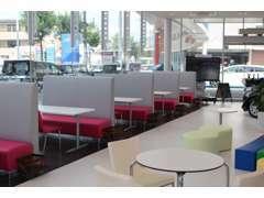 平成29年8月に店舗リニューアルを実施より快適なショールームになりました!ぜひ、ご来店をお待ちしております。