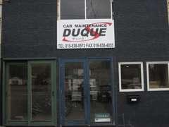 当社にてリニューアル改装中の店舗です!ダークブルーの外観が目印です!