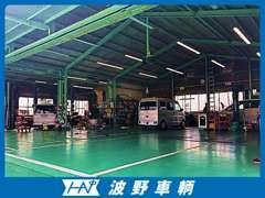 中国運輸局長指定の整備工場です!車検整備もお任せください!お待ちしております★