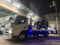 積載車自社完備!遠方納車、もしもの時のロードサービスも対応致します!
