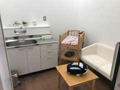 授乳室もありますので赤ちゃんもご一緒にご来店ください!