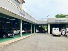 指定工場完備です。車検・整備・メンテナンス等、専任の整備士が承ります!