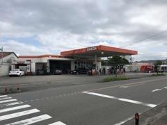☆県道26号線沿いの坂田石油です☆宮崎市内からお越しでしたら右側のENEOSです☆