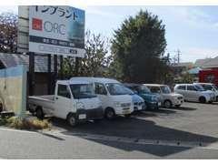 店裏左は道側5台のみです。駐車の際はお声をかけてください。
