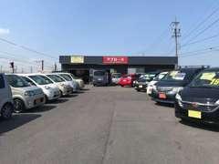 当店には常時20台程のお薦め車が展示中です!お値打ち車が多!