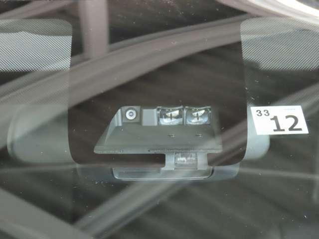 【衝突被害軽減ブレーキ】前方の車両や横断する歩行者などを検知した時、衝突回避や被害軽減をサポートします!!