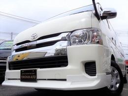 トヨタ ハイエース 2.7 グランドキャビン 5型セーフティ6AT1オナ禁煙ナビTV電動ドア