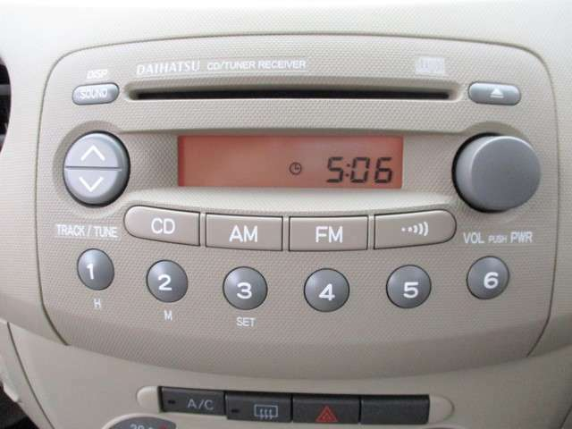 AM/FMラジオ付きCDステレオ