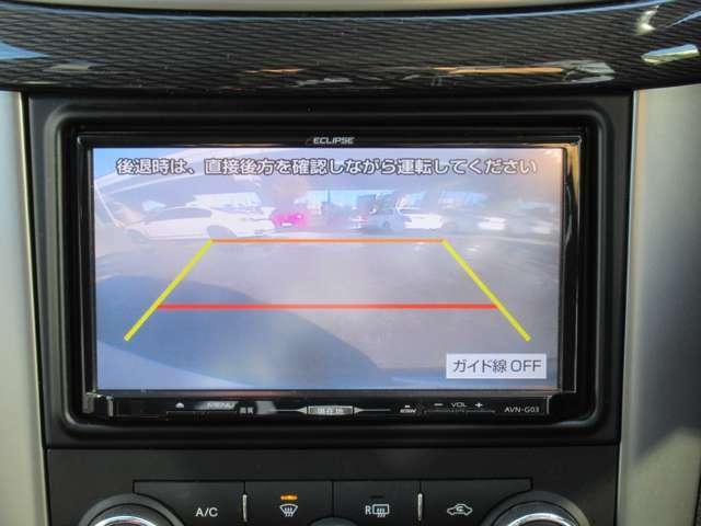 バックカメラ搭載車両ですので、駐車の苦手な方や狭い所での駐車もご安心ください♪