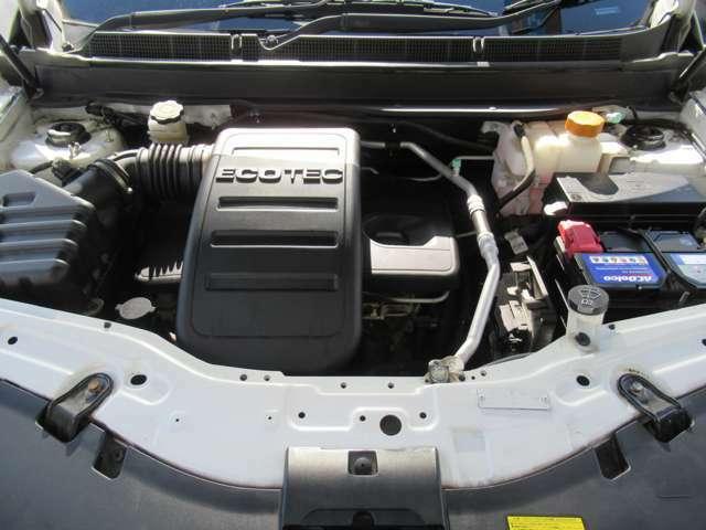 直列4気筒DOHC 2400cc 出力:167ps(123kW)/5600rpm トルク:23.4kg・m(230N・m)/4600rpm(カタログ値)