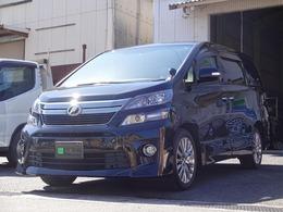 トヨタ ヴェルファイア 2.4 Z ゴールデンアイズII 4WD 4WD パワーBドア 後席モニター