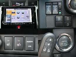 H30 タンク カスタムGS スマートアシスト/アルパイン9型ナビ/衝突軽減ブレーキ/車線逸脱警報/ETC/クルーズコントロール/シートヒーター/バックカメラ/両側電動ドア/コーナーセンサー/LED/1オーナー/