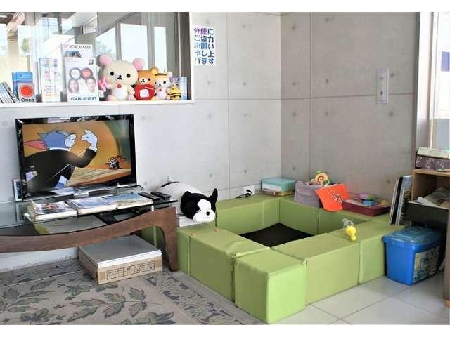 Bプラン画像:♪^^)お子様用 TV・DVD・絵本・ぬり絵・ブロック組立・おもちゃ・ぬいぐるみ・親御様のチェア完備(^^♪