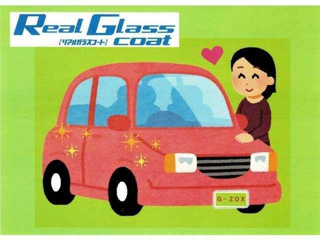 Aプラン画像:♪^^)G'ZOXガラスボディコーティングは普段あまり洗車されない方や、お車が大きくてWAX掛けや手入れに時間がかかる・・・という方は是非オススメです!艶や光沢もピカピカに復活しますよ(^^♪