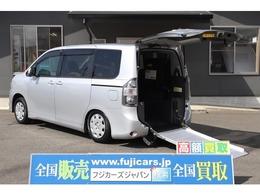 トヨタ ヴォクシー 2.0 X Lエディション ウェルキャブ スロープタイプI 車いす2脚仕様車 7人乗り 車いす2台固定 左側パワスラ
