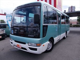 日産 シビリアン シビリアンバス 車いす輸送車クーラー/ATリビルト交換済