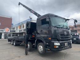 UDトラックス クオン セルフローダークレーン ETC 電格ミラー フォグライト HIDライト