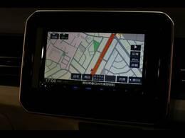 地デジ内蔵のSDナビ搭載。Bluetoothも対応可能です。