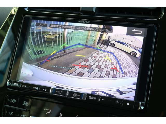 カラーバックカメラ付き☆これがあれば、バック駐車が苦手な方でもご安心して運転できますよね。便利なアイテムです☆