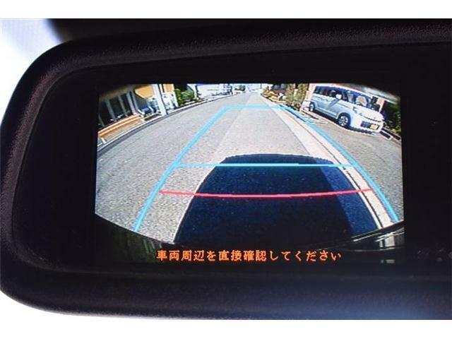 ■ミラーバックカメラも装備■