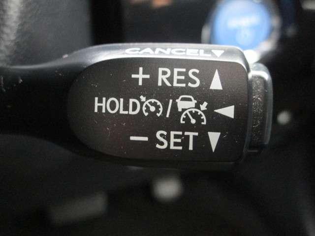 高速道路などで役立つクルーズコントロール搭載!