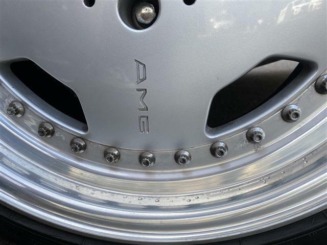 AMG純正17インチアルミ装着中☆当時物は現在価値が高騰中になります。