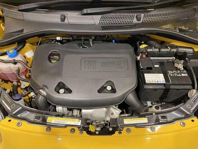 燃費に優れたトルクフルなターボ付900ccツインエアエンジン。案外入りますよー!