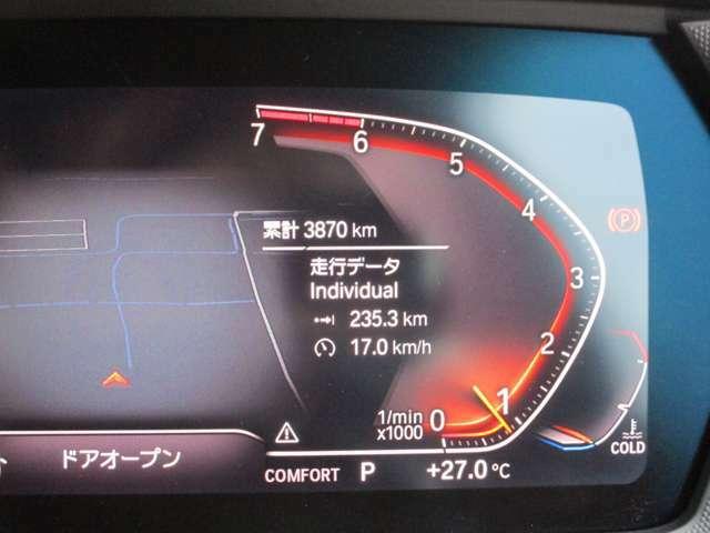 走行わずか3900km!