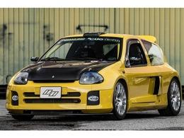 ルノー クリオ V6.24v トロフィー 6速ドグシーケン JPNロードリーガル