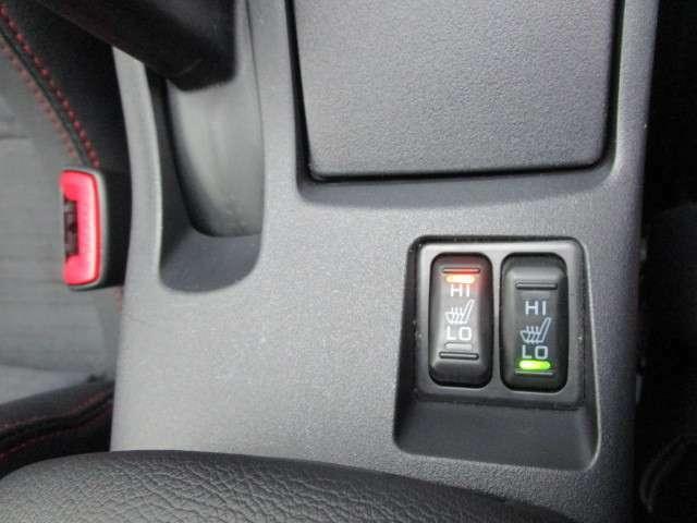 運転席助手席HI/LO切り替え式シートヒーター装備!