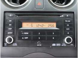 【オーディオ】純正CDチューナーが付いています。オプションでナビゲーションのお取付けも可能です。