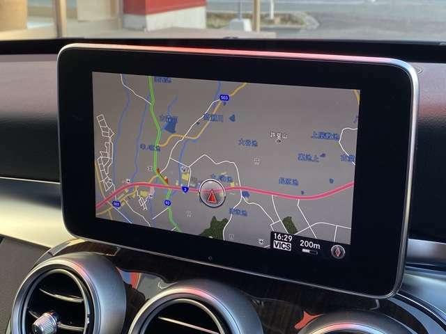ナビゲーション機能は3D表示で分かりやすいルート案内を行ってくれます。