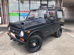 スズキ ジムニー 660 ワイルドウインド リミテッド 4WD 切り替4WD 社外ハンドル
