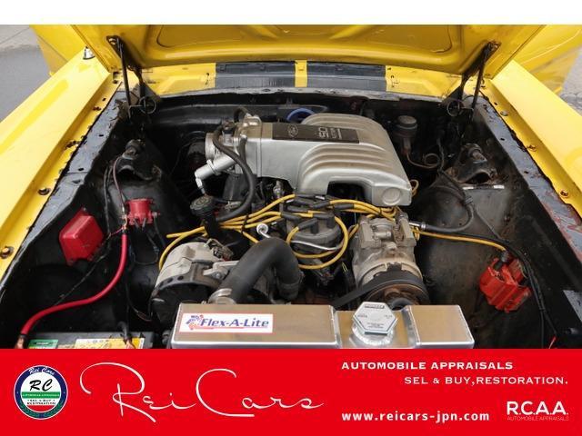 エンジン 80年代V8インジェクション5Lにスワップ