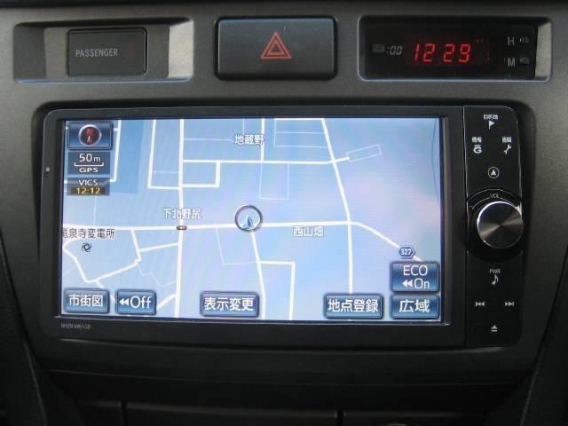 トヨタ純正HDDナビを取付けました。HDD最新地図データーをディーラー納車整備時に更新できます。フルセグ地デジTV及びスマホと繋がるブルーツゥス機能付きです。新品バックカメラも取付け済みです。