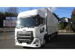 UDトラックス クオン 13.7トン積載 AT車 アルミウィング ラッシング2段 車線逸脱警報装置