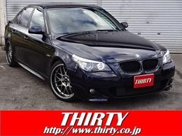 BMW 5シリーズ 530i Mスポーツパッケージ 純正ナビTV サンルーフ 19インチAW