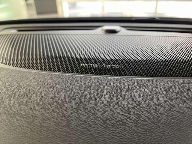 長いドライブもハーマンカードンの音響が楽しませてくれます。
