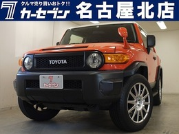 トヨタ FJクルーザー 4.0 カラーパッケージ 4WD 新品サイドステップ/BATTLIZマフラー