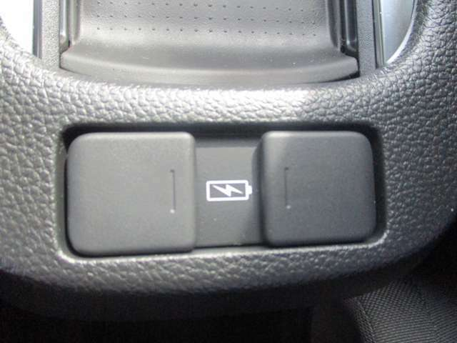 後部座席ももUSB充電をすることができます!