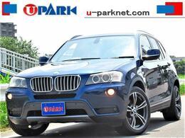 BMW X3 xドライブ28i ハイラインパッケージ 4WD 黒革 iDriveナビ トップビューカメラ 19AW