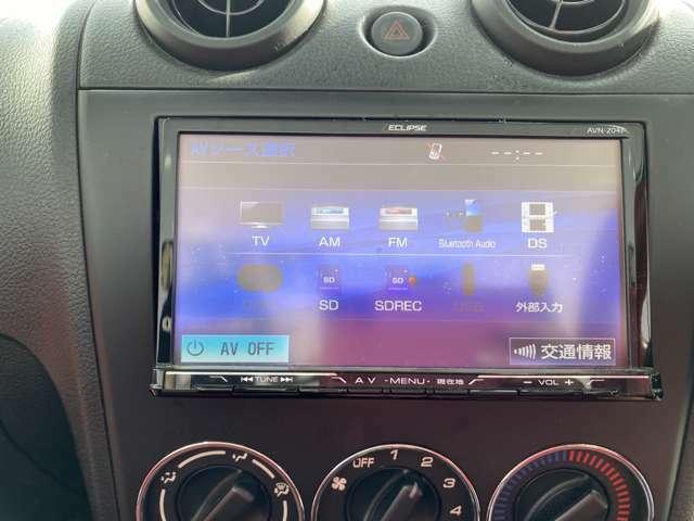 フルセグTV・CDなども使えます。