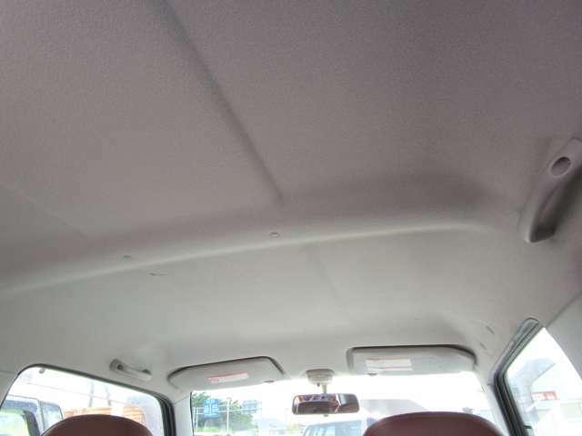 禁煙車でございますので天井にヤニ汚れなど無く綺麗です★