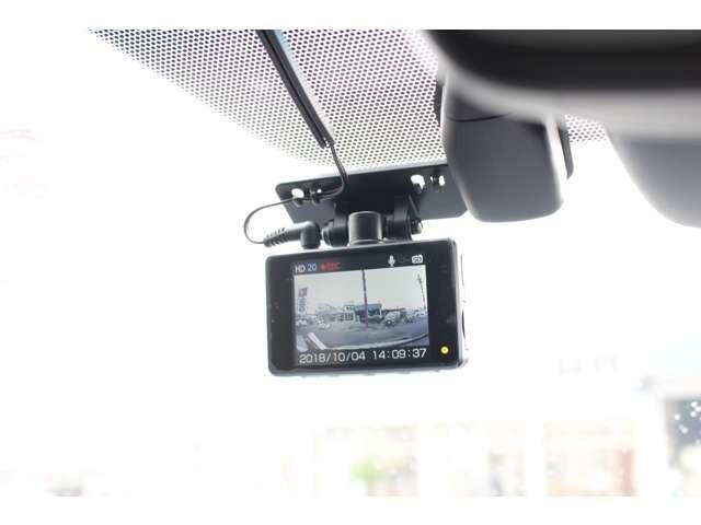 駐車監視機能付きのドライブレコーダー付き☆いたずらや盗難防止に役立ちます!!